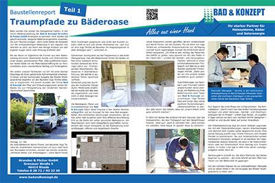 Bad & Konzept - Baustellenreport